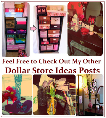 Maria sself chekmarev dollar store last minute christmas for Cheap craft christmas gift ideas