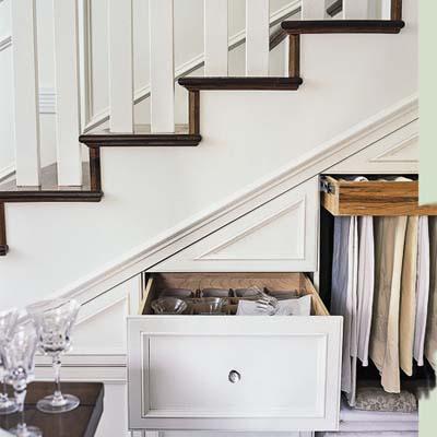 Interieur bouw kasten onder de trap geen huis zonder for Trap kaal maken