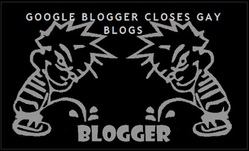 Blogger Closes Gay