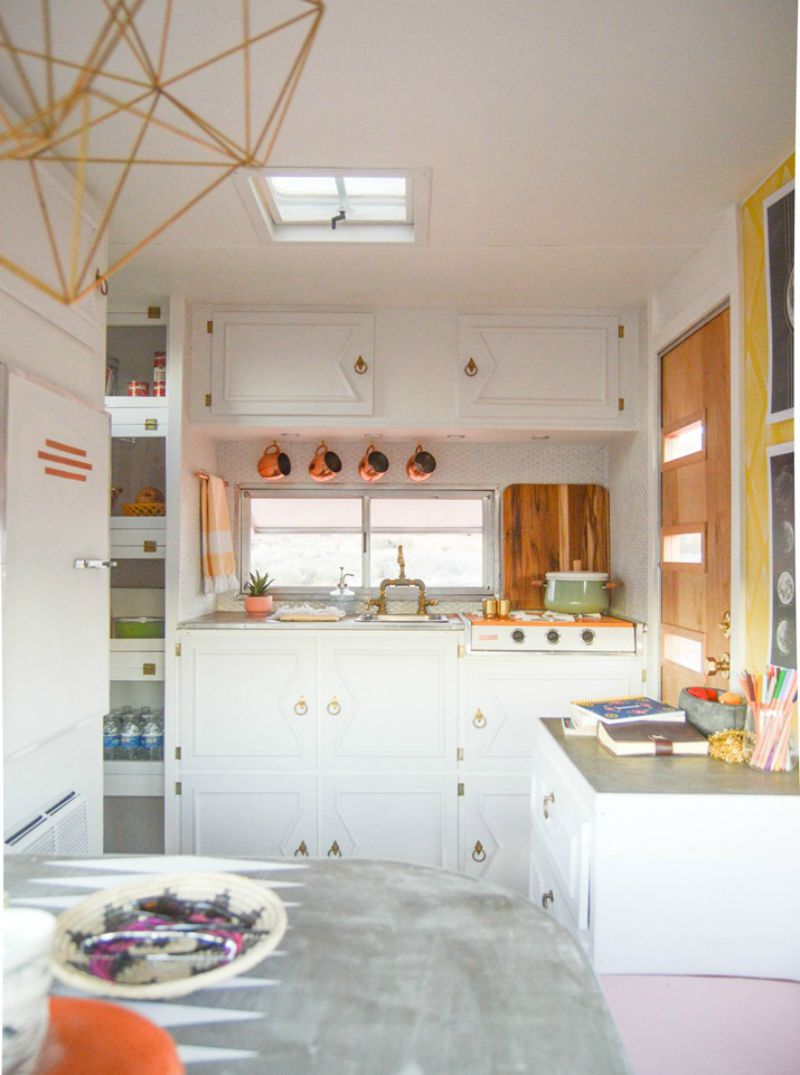 Iu0027m Always Really Inspired By Small Spaces And Especially Small Kitchens As  Ours Is A Typical Victorian Galley Design. Itu0027s Often Quite Hard To Find  Surface ...