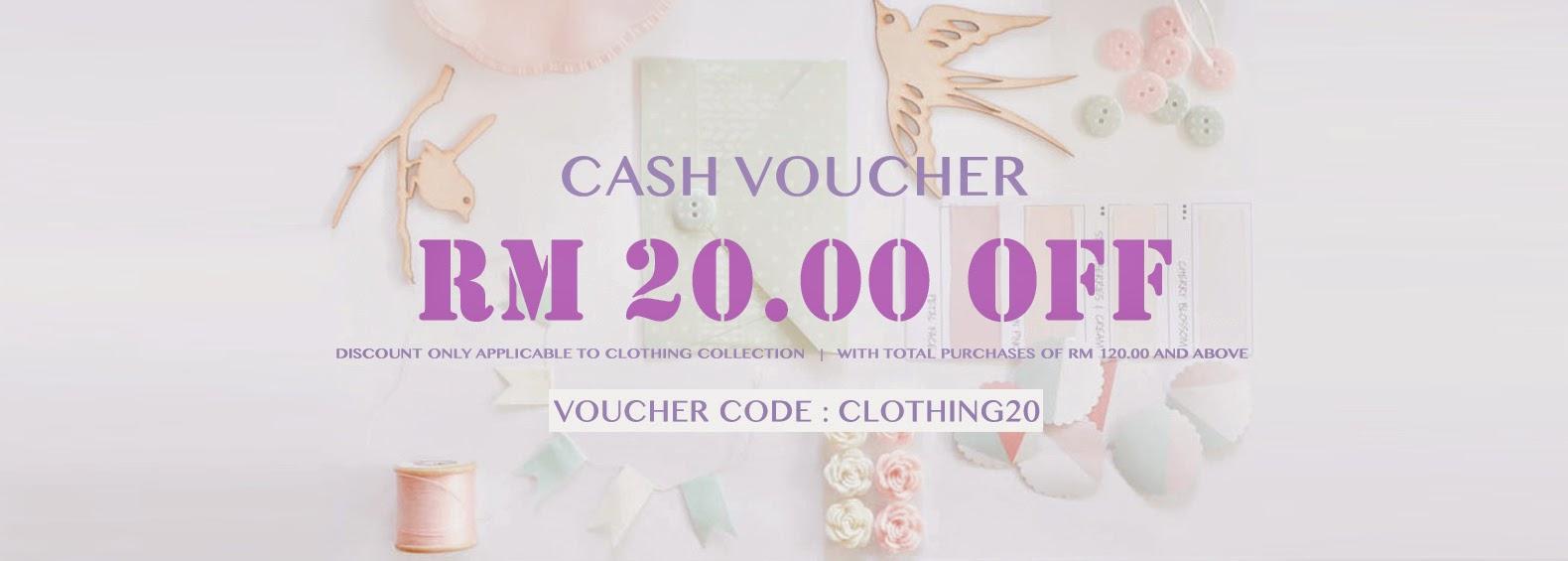 CASH VOUCHER RM 20.00