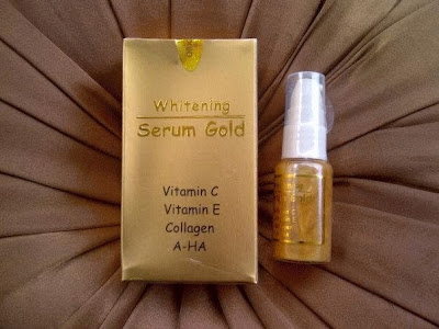 Serum Pemutih (Whitening Serum Gold)