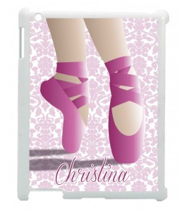 ipad cover with toe shoes illustration