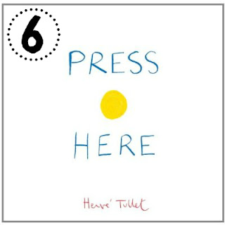 Mommy Testers Press Here Book Herve Tullet Review