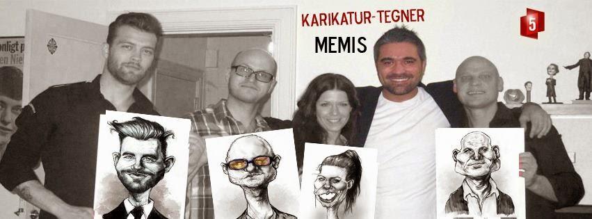 Caricatures by Memis Agar