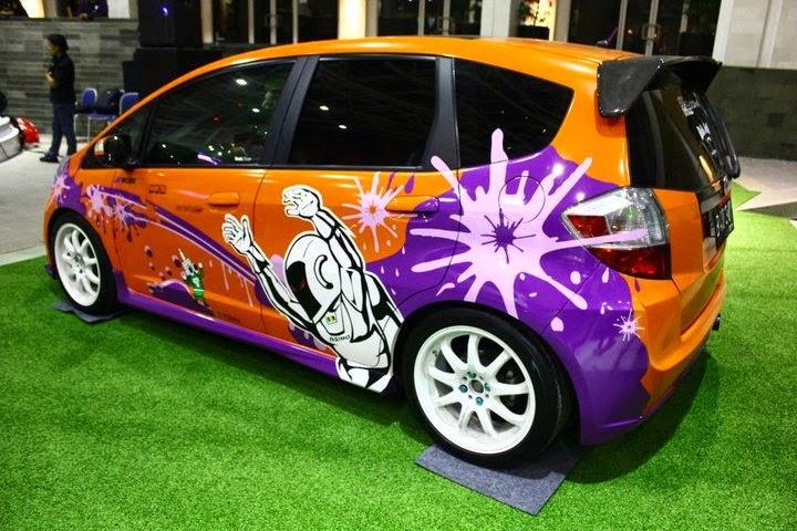 modifikasi mobil Honda jazz rs 2012