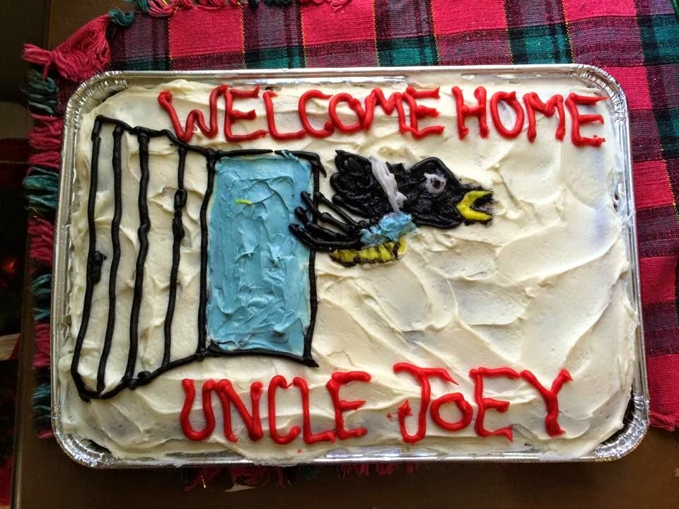 Welcome Home Uncle Joey