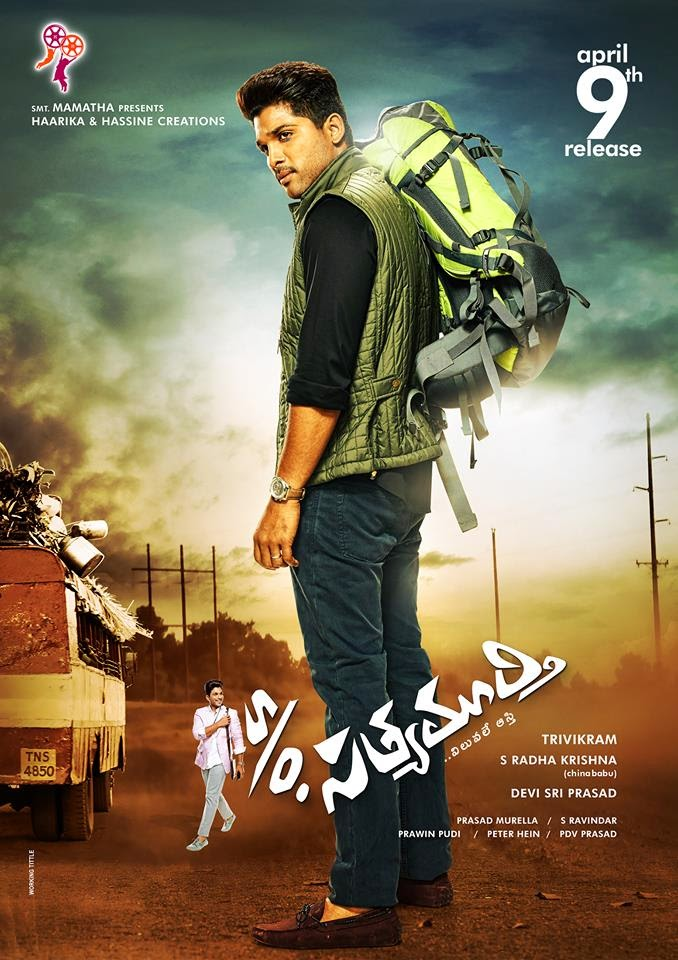 S/o Satyamurthy Release Date HD Posters