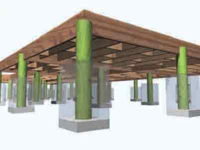 Caracter sticas del terreno construcci n casas de madera - Como cerrar un terreno con madera ...