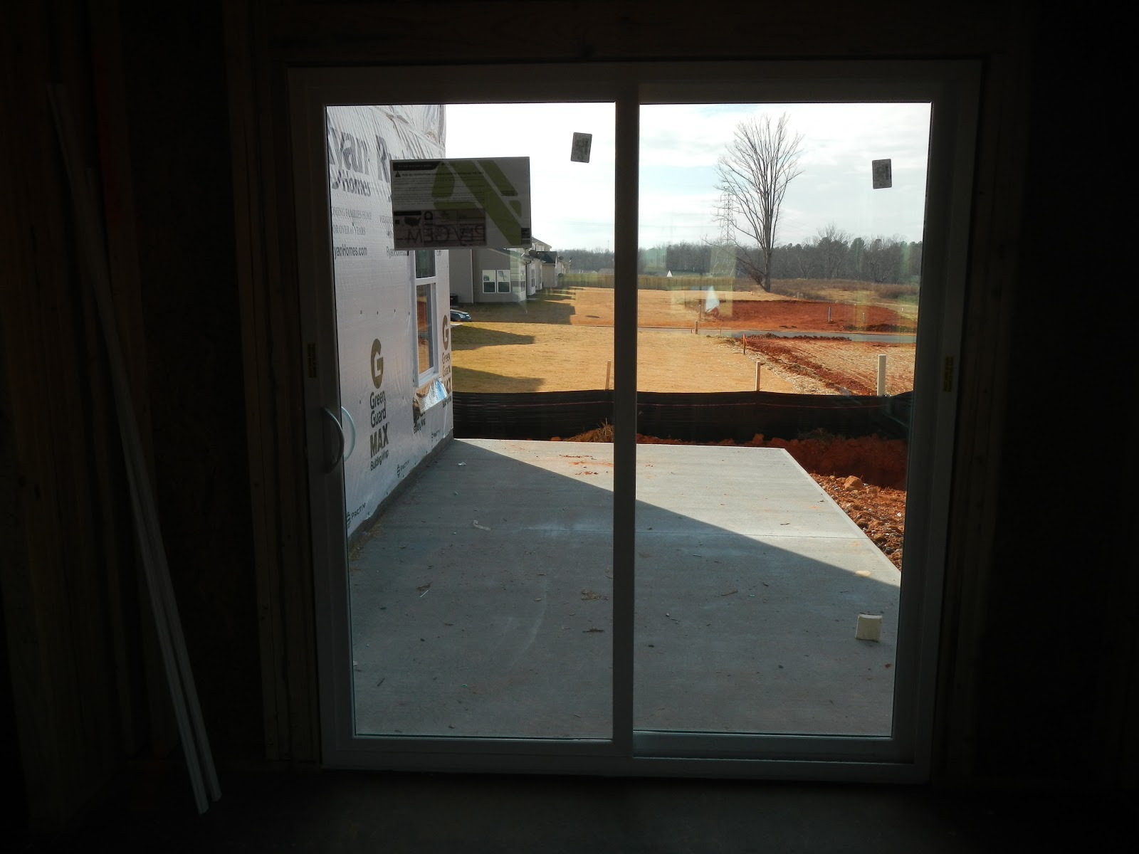The newharts build a house for Sliding glass doors onto deck