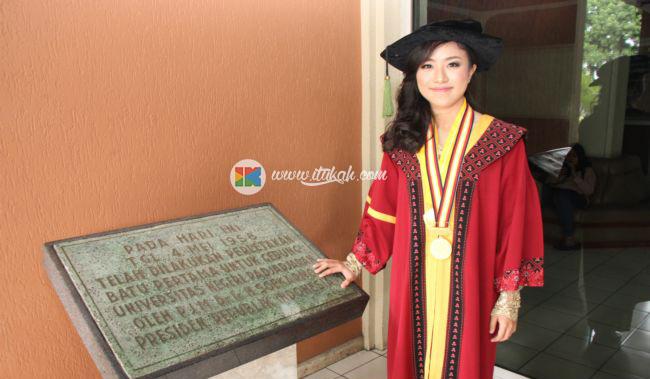 Vindy Margaretha, Wisudawan Terbaik Lulusan Kedokteran UNPAD raih IPK 3,98