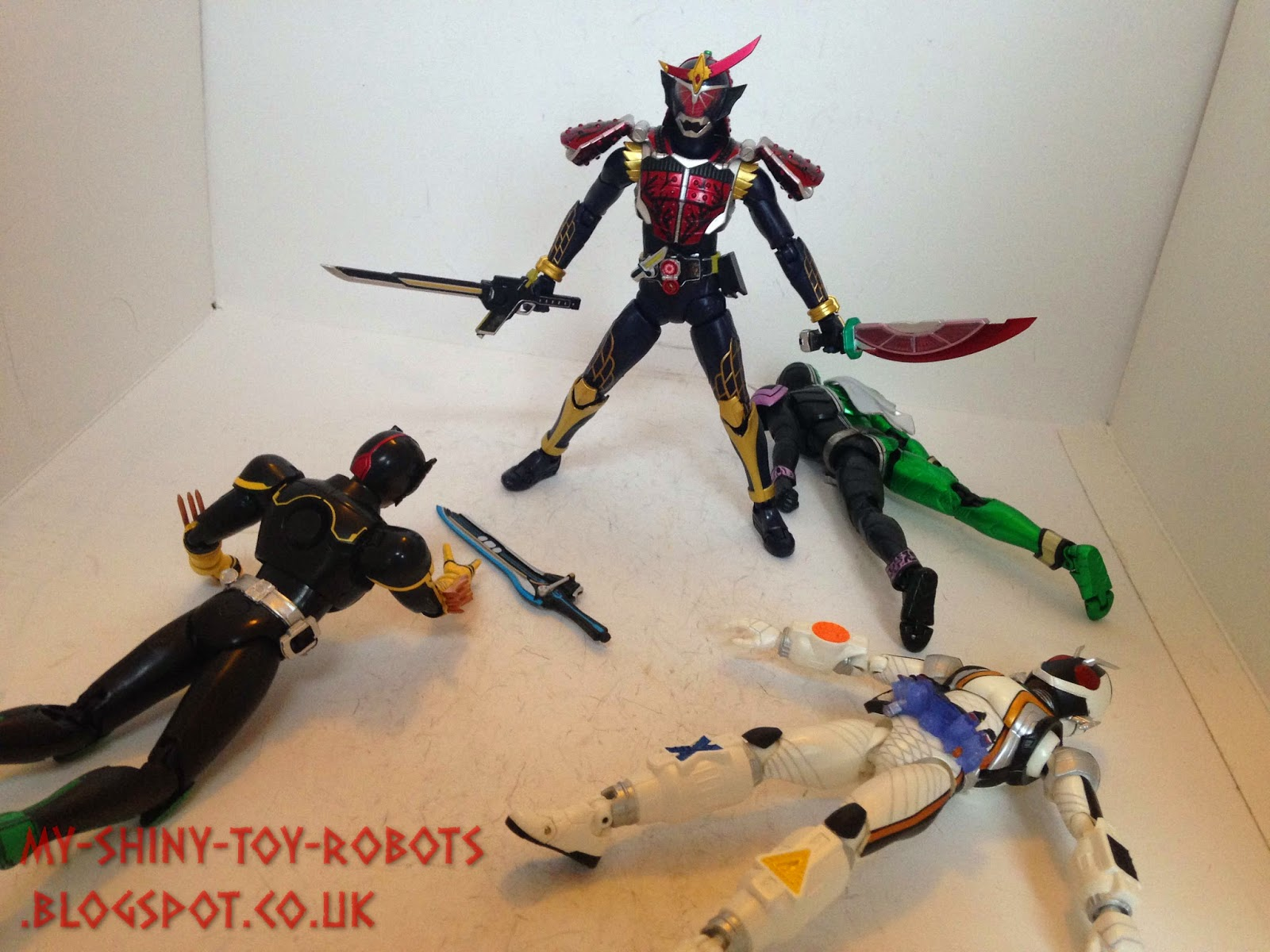 Defeating the Bujin Riders