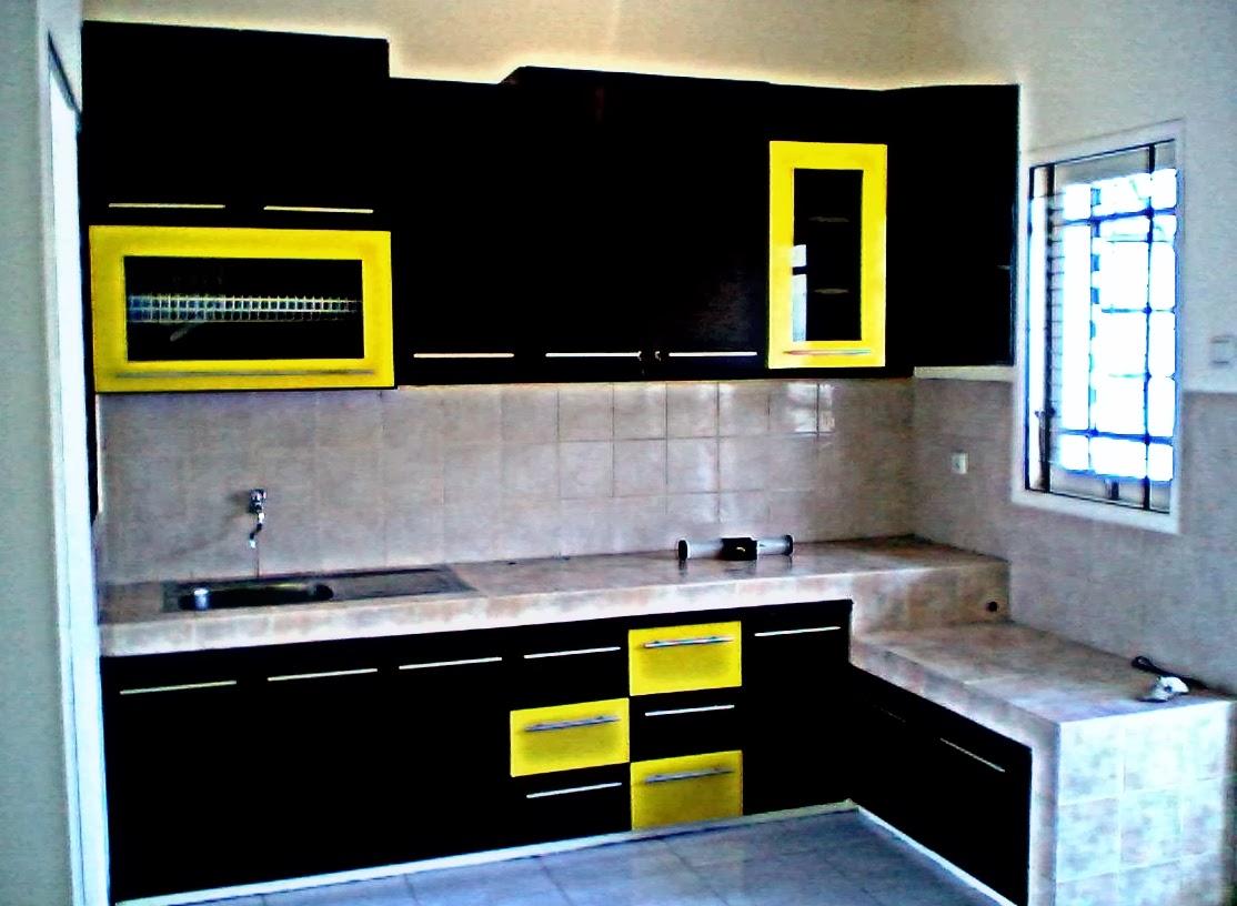 DI UJUNG ISLAM: Kreativiti Dekorasi Ruang Dapur Idaman