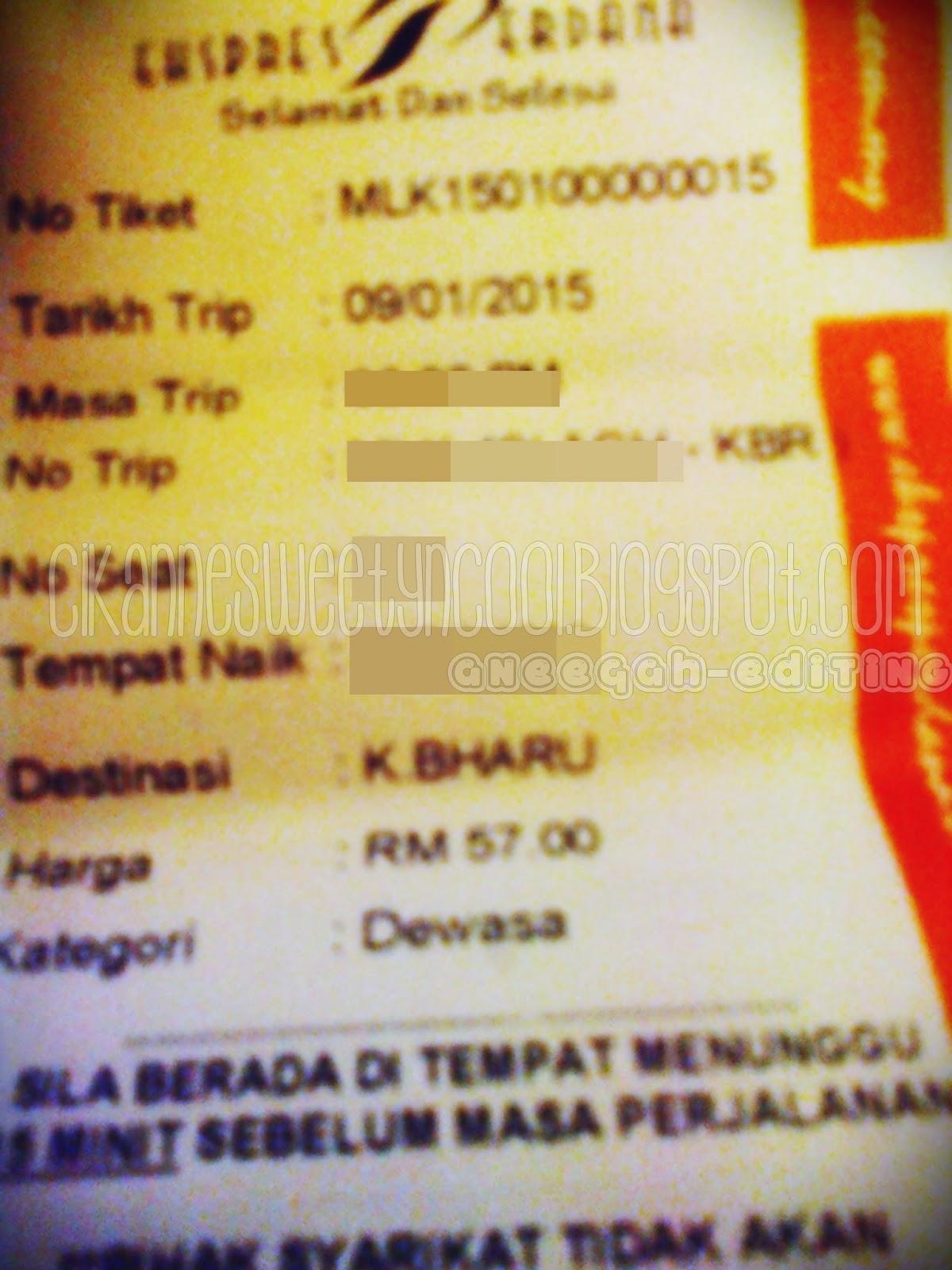 Tiket Bus Ekspress Perdana