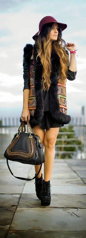Gorgeous boho chic fashion trend