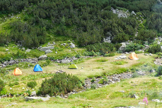 tents near Malyovitsa hut