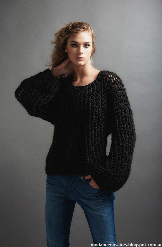 Paula Ledesma otoño invierno 2014. Moda Tejidos otoño invierno 2014