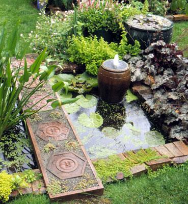 C mo decorar un jard n peque o y que parezca grande for Ocio y jardin