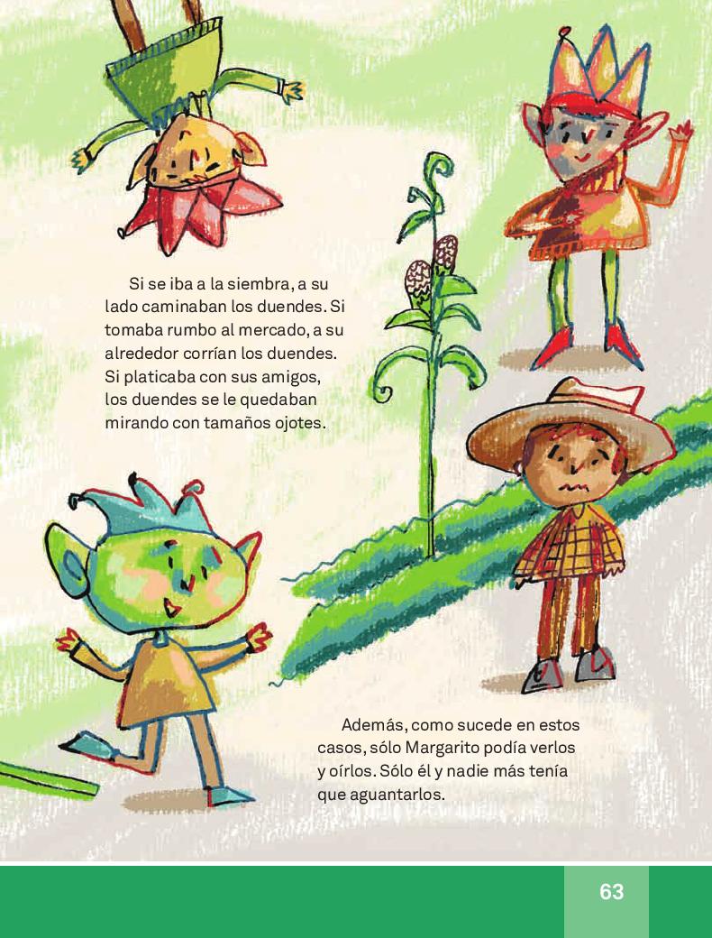 Cómo fue que Margarito se desenduendo - Español Lecturas 3ro 2014-2015