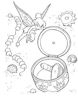 dibujos para colorear, hadas para colorear, fairy coloring pages