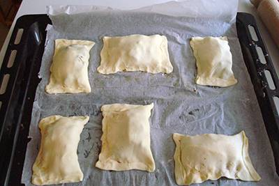 Fagottini melanzane e mozzarella 9