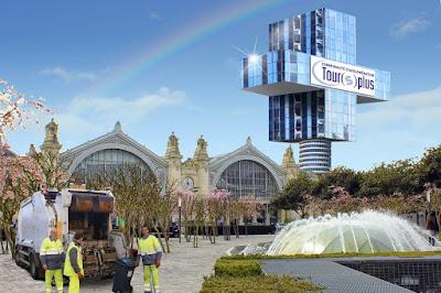 gare de Tours projet ilot Vinci : la tour Plus