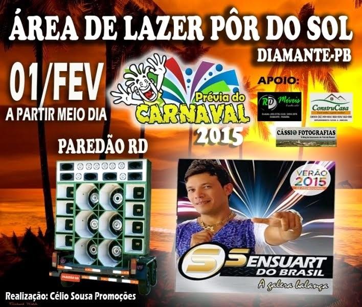 PREVIA DO CARNAVAL 2015