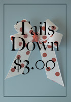 Tails-Down Bow