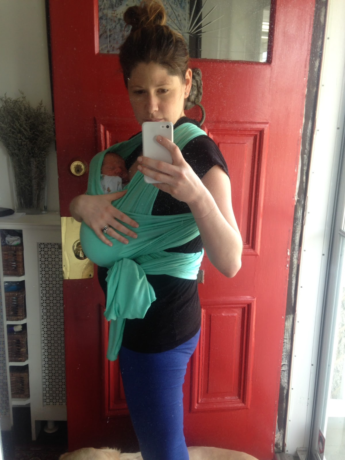 Aly in motherland baby talk thoughts on the solly baby wrap 5 day old henry in the newborn carry baditri Images