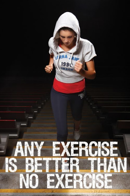 Any Exercise Is Better Than No Exercise