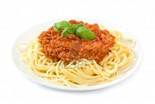 Espaguetis con salsa bolognesa