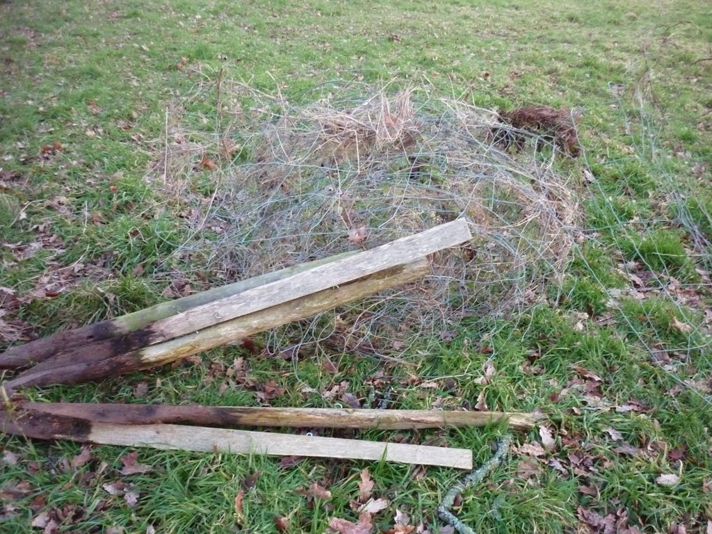 Removing Old Wire Fence - WIRE Center •