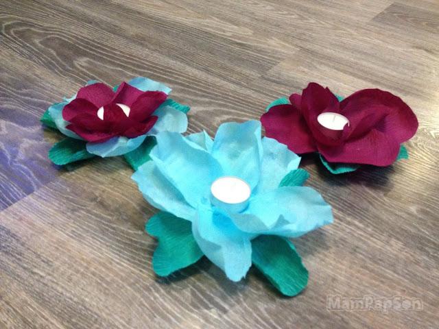 цветы-фонарики своими руками