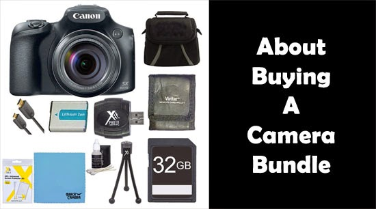Buying Canon SX60 Bundle