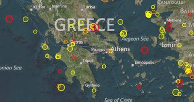 Ανήσυχοι οι σεισμολόγοι μετά την πλούσια ακολουθία σεισμών!
