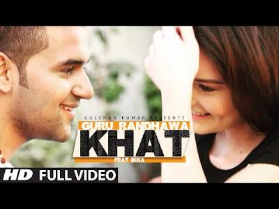 Khat Guru Randhawa mp3 download video hd mp4
