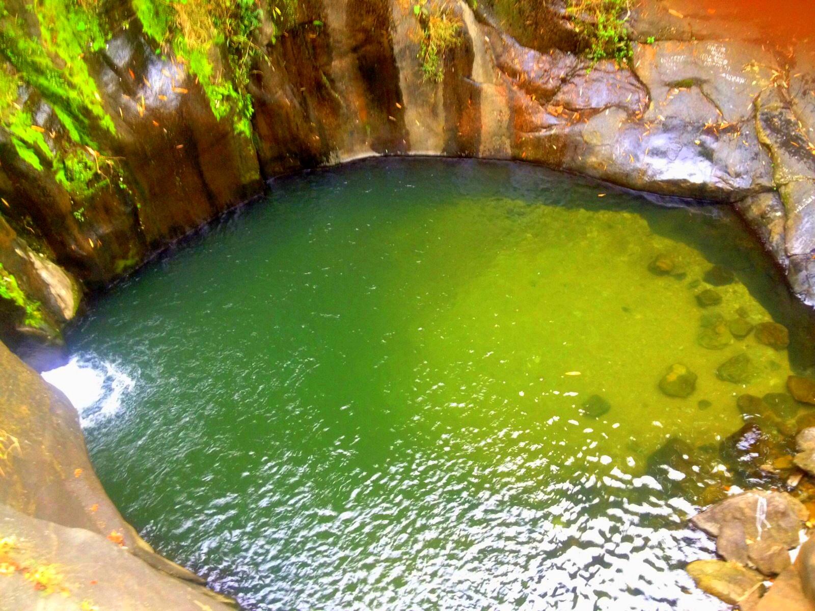 Kerala Kundu Waterfalls on Walking Water Experiement