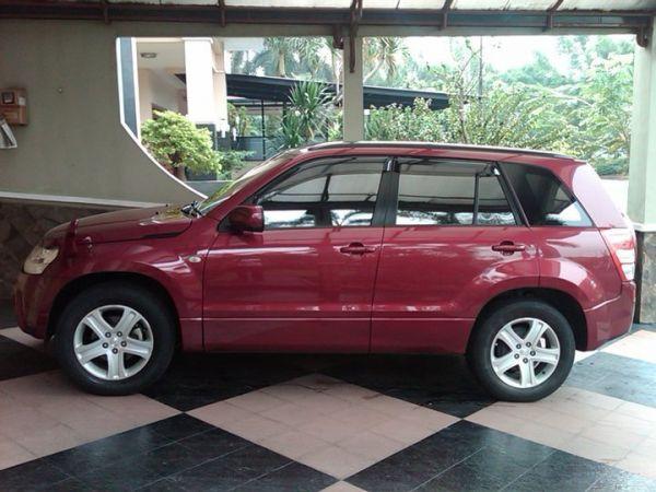 Dijual Mobil Suzuki Grand Vitara Warna Merah Maroon 2006 Matic Harga ...