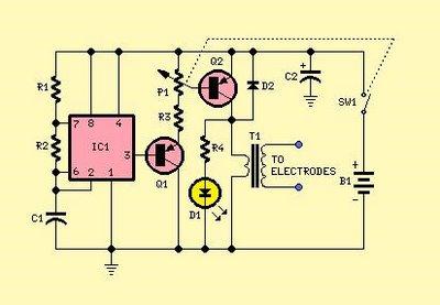electronic muscle stimulation ems new circuit found rh hanifjumaat blogspot com
