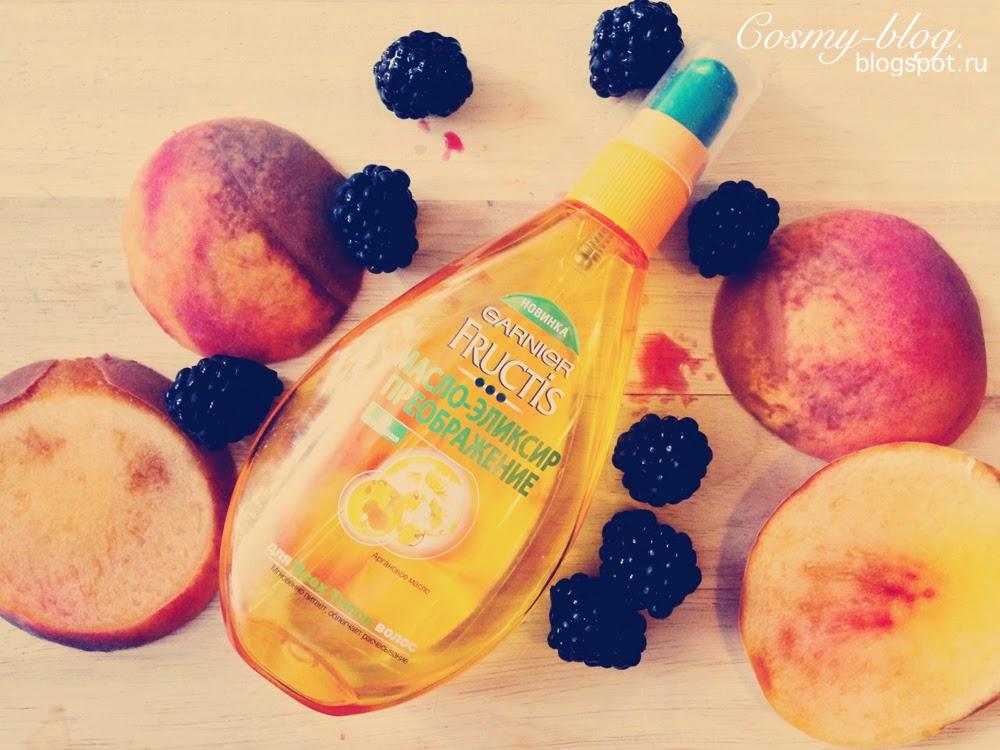 Fructis, масло-эликсир Преображение, несмываемое масло для волос