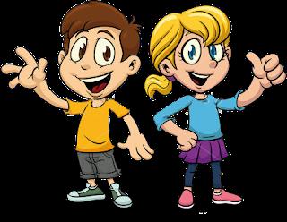 Výsledek obrázku pro kreslené děti