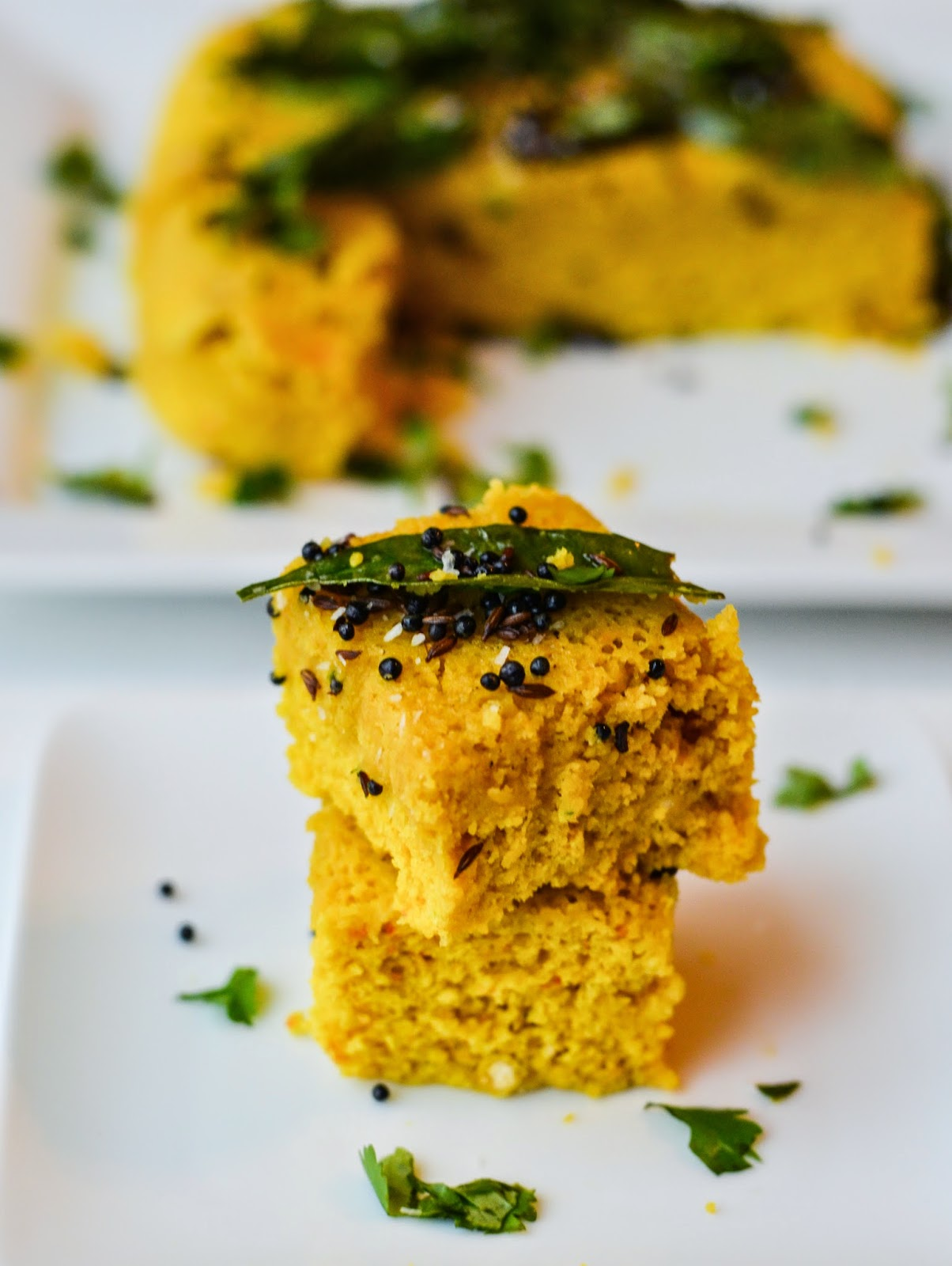 Instant Khaman Dhokla: Made in under 10 minutes in the Microwave