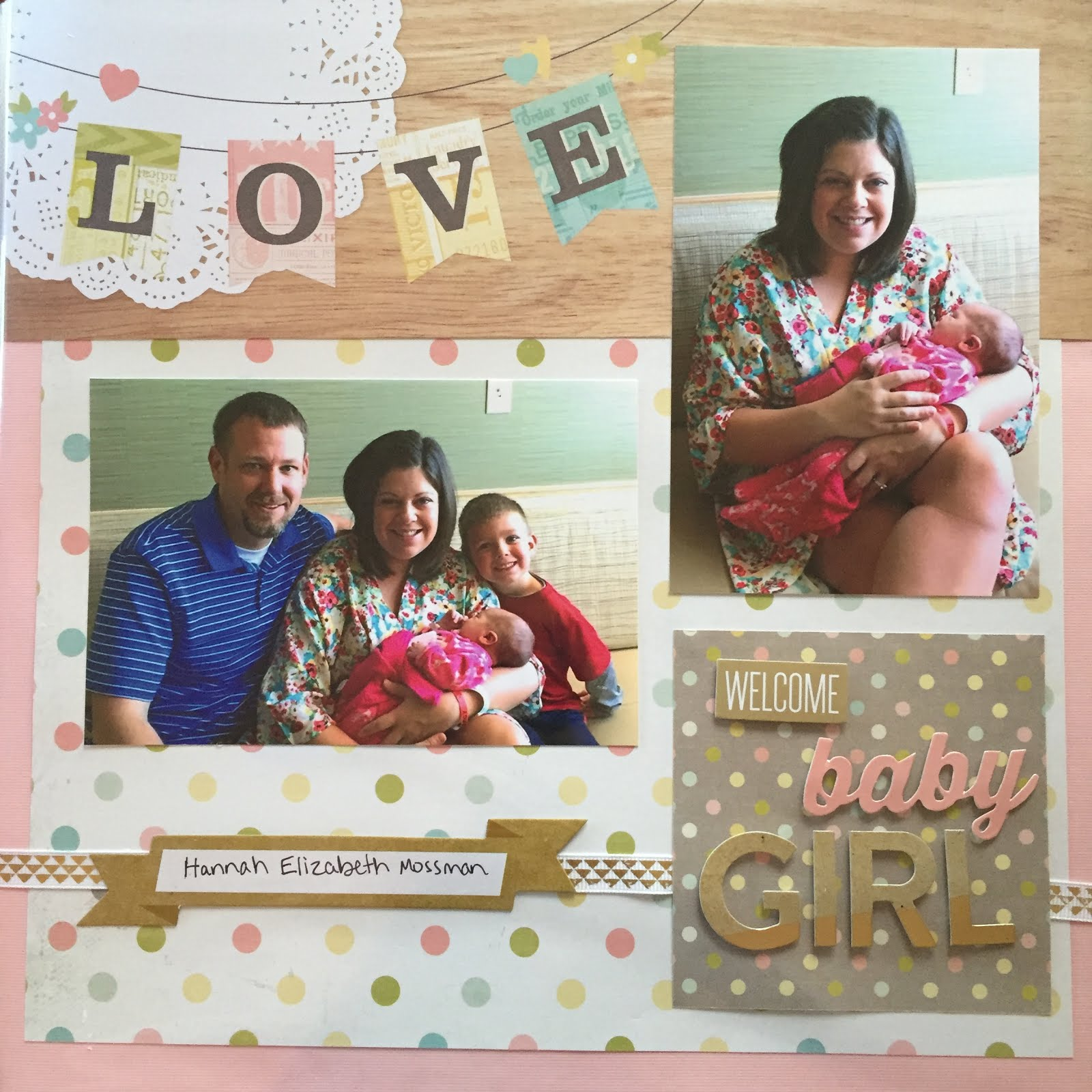Clothed With Grace Scrapbooking How To Create Five Minute Pages