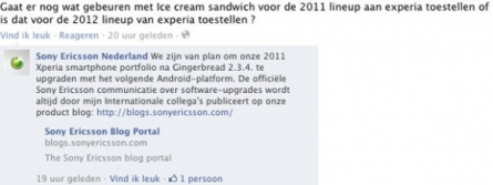 Sony Ericsson will Update Xperia To Ice Cream Sandwich in 2012