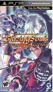 BLAZING SOULS ACCELATE PSP