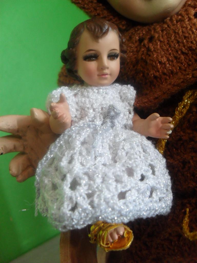 Como hacer un vestido de nino dios