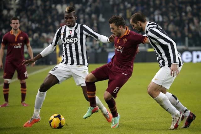 Prediksi Juventus vs AS Roma Liga Italia 25 Januari 2016 - www.luxybet168.com