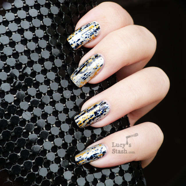 Lucy's Stash - Comet Trail foil nails