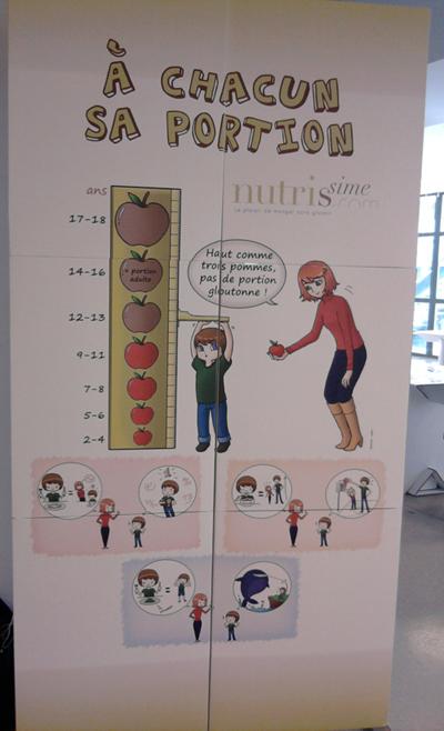 Photo de l'affiche A CHACUN SA PORTION au salon Destination Nutrition