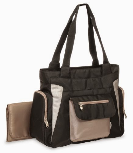 Skip Hop Bento Diaper Tote Bag, Black
